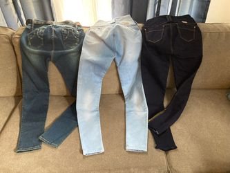 Lift butt 100% Colombian Jeans size 10 Thumbnail