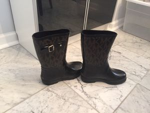 Michael Kors rain boots for sale for Sale in Mount Rainier, MD