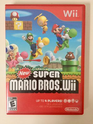 (Nintendo Wii) New Super Mario Bros. Wii for Sale in Ashburn, VA