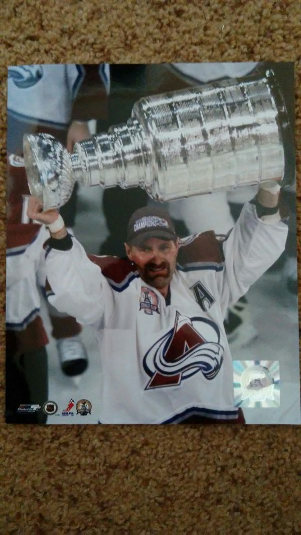 quality design 1ee1d 5a531 Ray Bourque Colorado Avalanche Stanley Cup Photo for Sale in Aurora, CO -  OfferUp