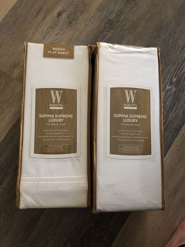 Wamsutta Supima Supreme Luxury Queen Sheet Set