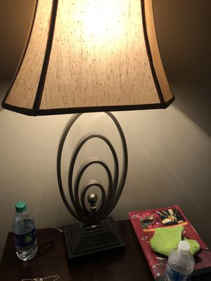 Lamp with shade for Sale in Douglasville, GA