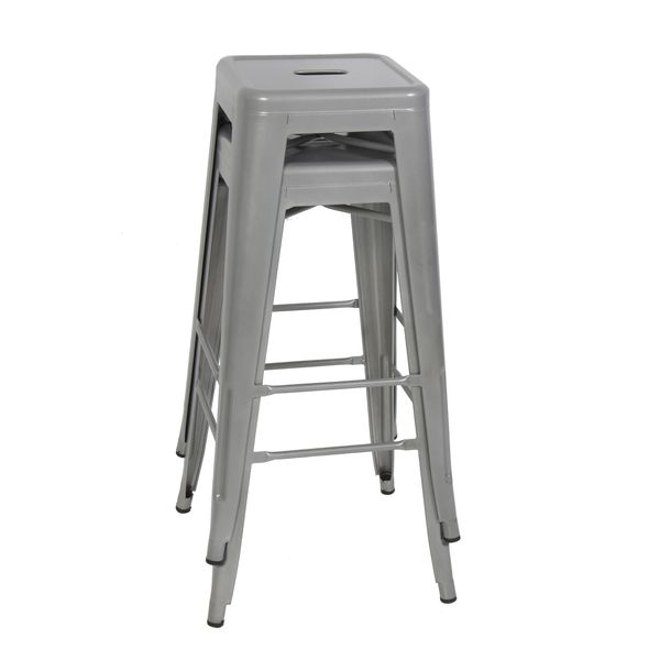 2x Brand New 30 Grey Metal Bar Stool Barstools For Sale In Brea Ca
