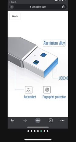 USB 3.0 Hub to Ethernet RJ45 LAN Adapter,ADOOMA Gigabit 1000Mbps USB C Ethernet Adapter for Chromebook,Tablets and Phones Grey Thumbnail