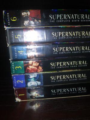 Supernatural Season 1-6 for Sale in Centreville, VA
