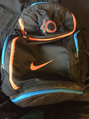 c08e64ef5f7b KD Nike backpack black Orange OKC away for Sale in Milwaukie