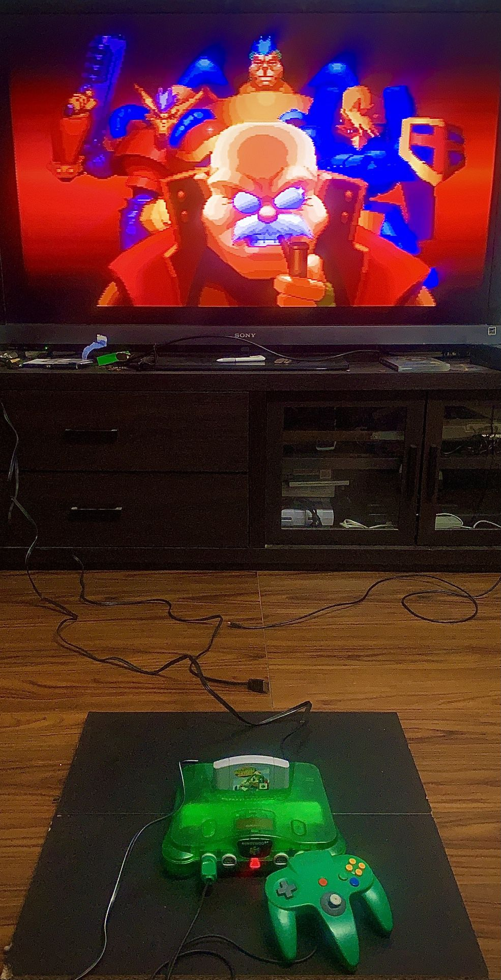 Funtastic Jungle Green Nintendo 64 System