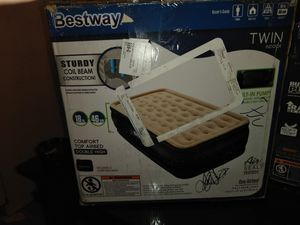 Best way twin comfort top air bed for Sale in Cahokia, IL
