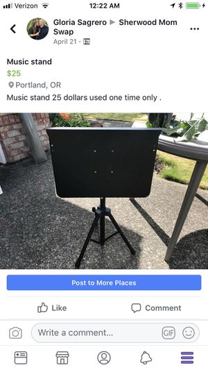 Music stand for Sale in Sherwood, OR