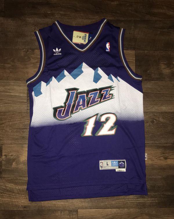 48866426d24 Large Throwback John Stockton Jersey Utah Jazz for Sale in Dallas ...