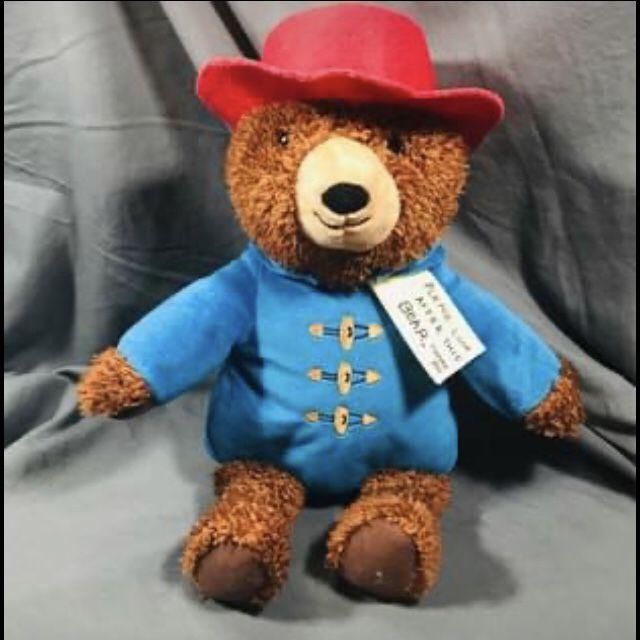 Paddington Bear Plush Toy New