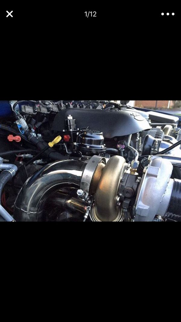 2007 – 2013 Chevy Silverado / GMC Sierra 1500 COMPLETE TURBO SET for