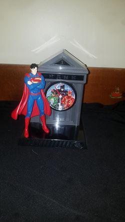 Justice League , Superman Bank and clock Thumbnail