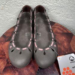 NEW Crocs Springi Ballet Flat Slippers Womens 10 Thumbnail