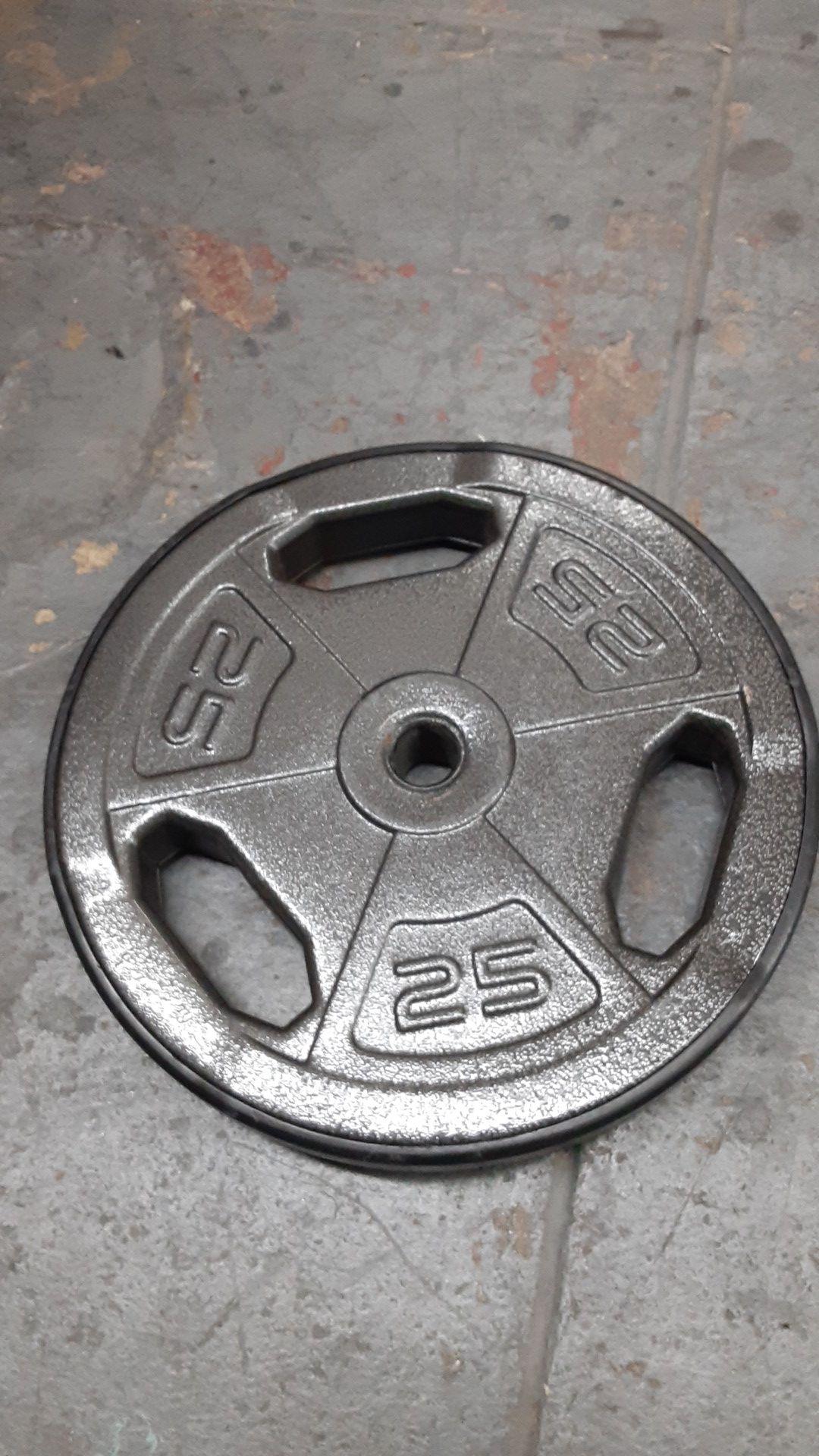 Single 25lbs plate
