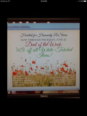 Deal of the week at Habitat for Humanity Restore for Sale in Rockville, MD