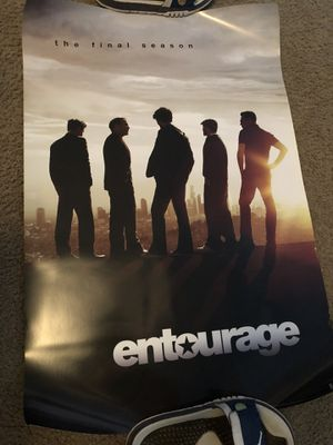 Entourage Poster 24x36 for Sale in Orlando, FL
