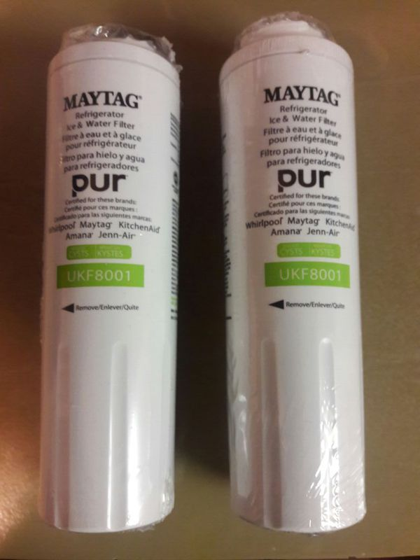 MAYTAG Refrigerator Ice & Water Filters (2) for Sale in Cherry Hill, NJ -  OfferUp