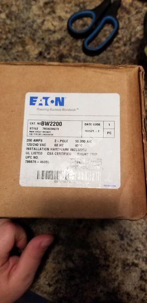 Eaton main breaker for Sale in Temple Terrace, FL