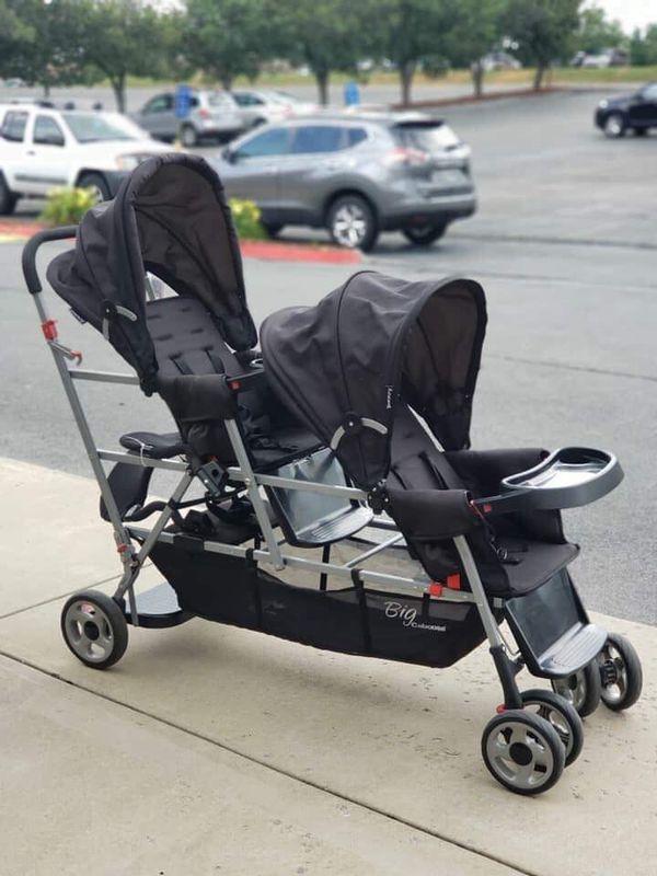 Joovy Triple Stroller With Infant Carseat Holders For Sale In Hemet Ca Offerup
