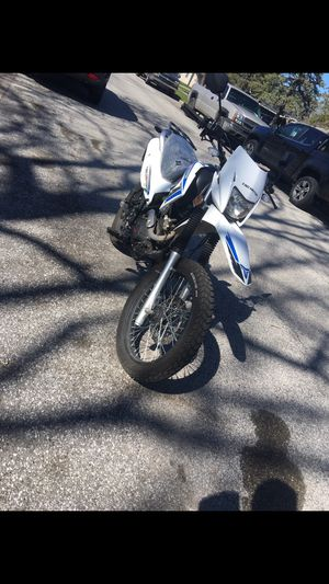 Photo Dual sport bike