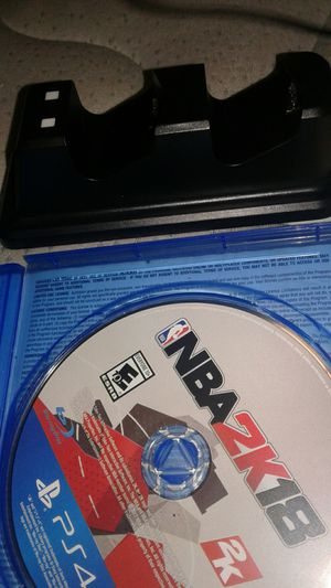2k18 with ps4 charger for Sale in Washington, DC