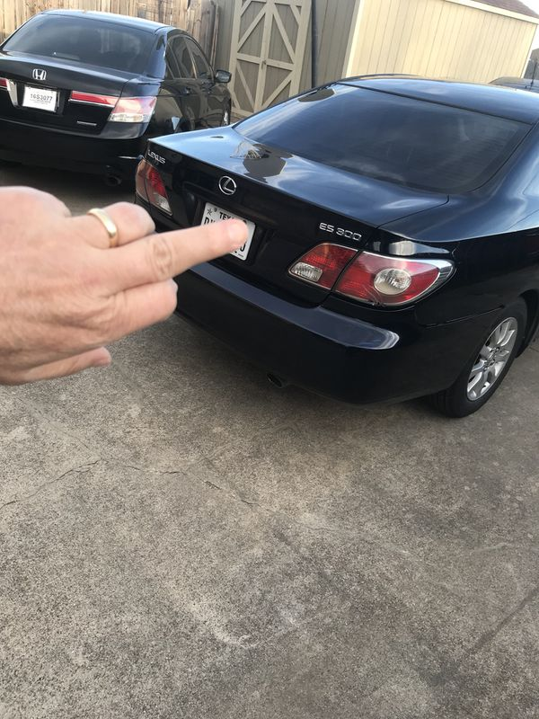 2003 Lexus ES300. 155,00 miles. No issues. New brakes and rotors ...