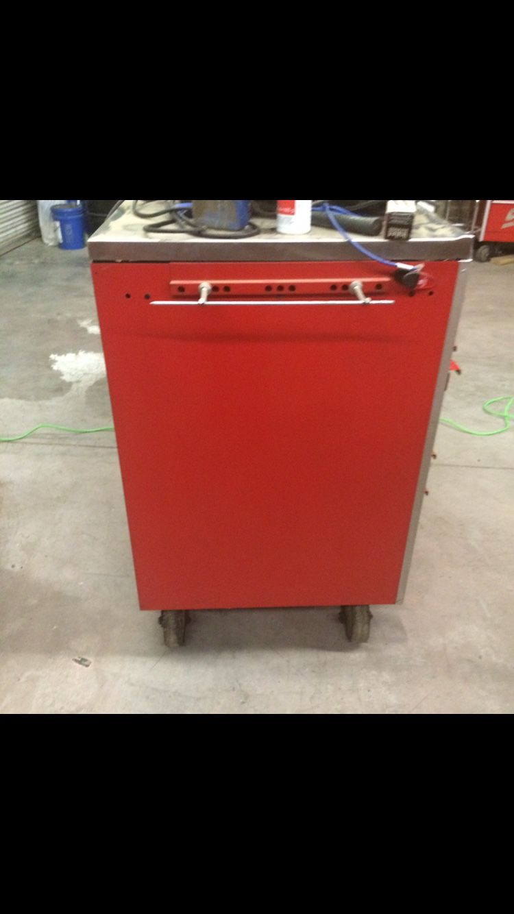 Snap On Tool Box With Stainless Steel Top