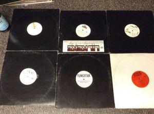 Houston Rap hip hop vinyl record lot Lil Keke Fat Pat Yungstar Trae Lil Flip Scarface Rap a lot Swishahouse DJ Screw Record lot for Sale in Houston, TX