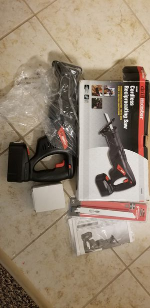Cordless reciprocating saw - Open box for Sale in Orlando, FL