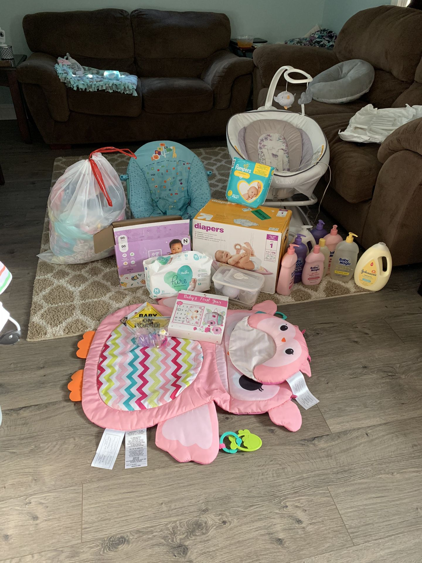 Tons of baby things