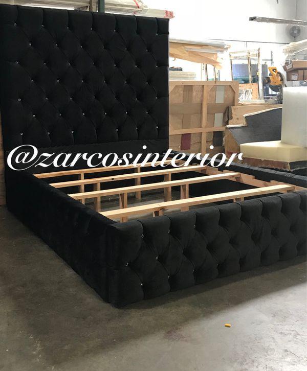 Custom Made Bed Frames Usa Alder Wood Furniture In Los Angeles Ca