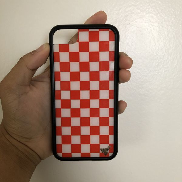 timeless design 6f5e4 6d5cc Red Checkered Wildflower Case for iPhone 6/7/8 for Sale in Laguna Niguel,  CA - OfferUp