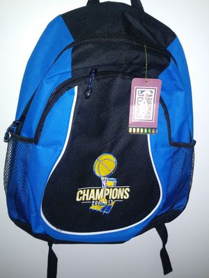 Warriors back pack for Sale in San Jose, CA