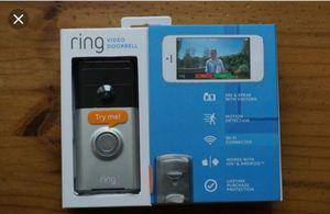 Ring video door bell for Sale in San Bernardino, CA