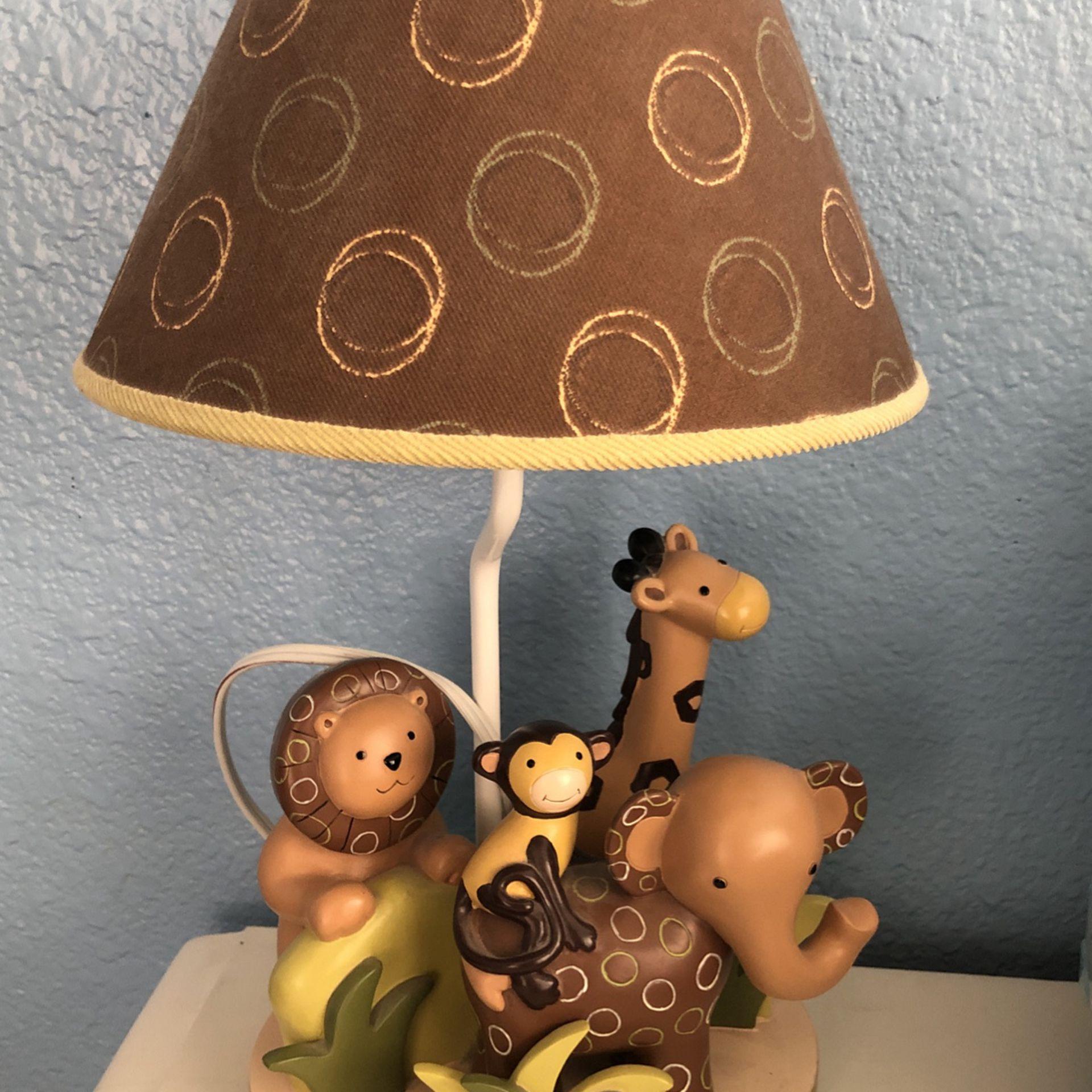 Safari kid Lamp