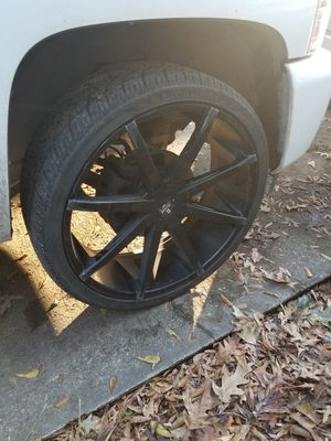 26s Dubs In 305-35-26s for Sale in Houston, TX