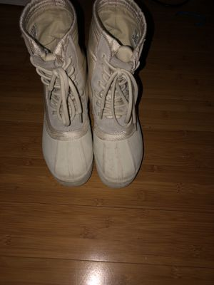 Moonrock yeezy boots size 8.5 men for Sale in Sterling, VA