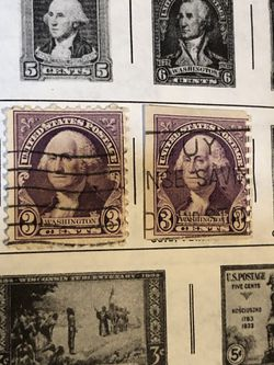 Stamp Collection U.S. Stamps 1924-1938 Thumbnail