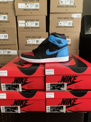 "Photo Air Jordan 1 Retro High ""NC to CHI"" W size 6.5, 7.5, 9, 11"