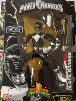 Power Rangers Mighty Morphin Legacy Black Ranger for Sale in Silver Spring, MD