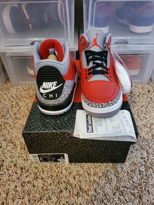 Photo Jordan 3 Retro CHI Edition size 8