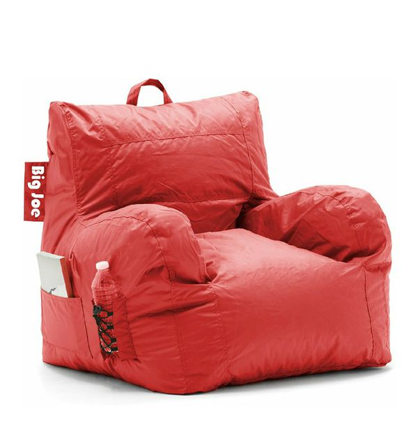 Outstanding Big Joe Dorm Bean Bag Chair Flaming Red For Sale In Gmtry Best Dining Table And Chair Ideas Images Gmtryco