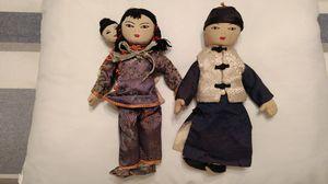 Antique Cloth Asian Dolls for Sale in Overland Park, KS