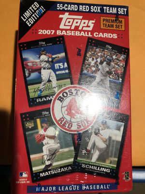 Topps Limited Edition 2007 Boston Red Sox Team Set for Sale in Washington, DC