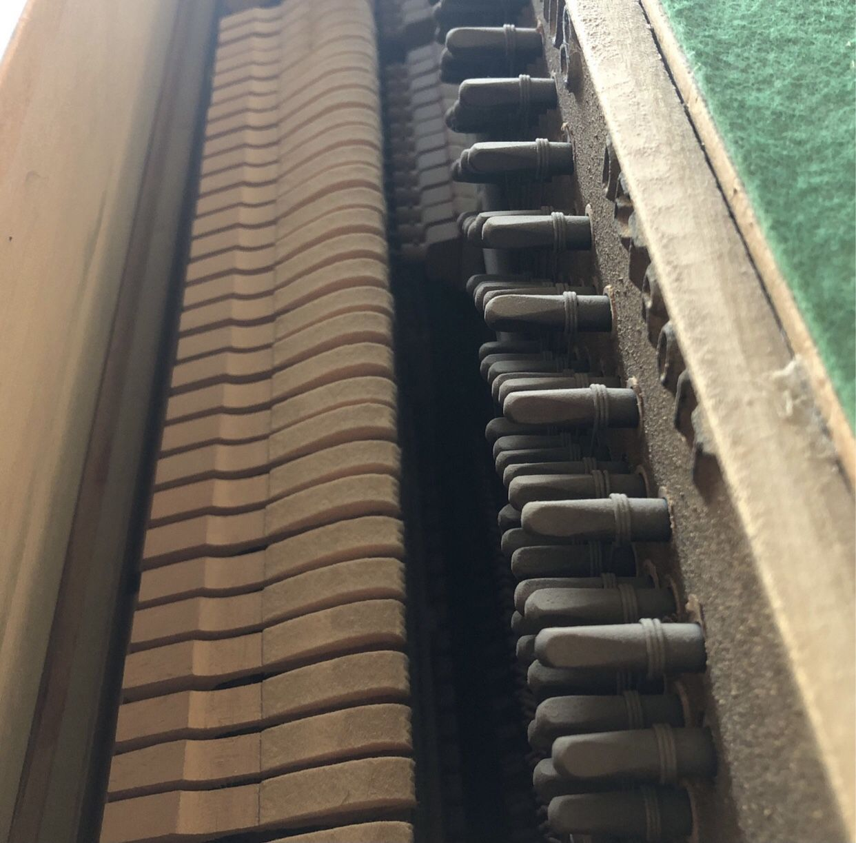 Grinnell Bros. Console Upright Piano