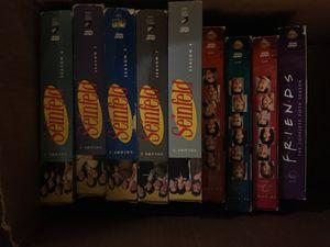 Seinfeld DVD Season 3, 5, 6,7. & 8. Friends Seasons 5,4,3,2 for Sale in Denver, CO
