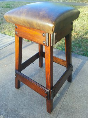 Wooden stool for Sale in Austin, TX