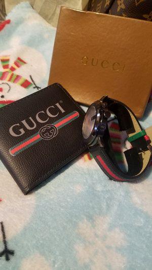 Wallet plus watch Gucci for Sale in Manassas, VA