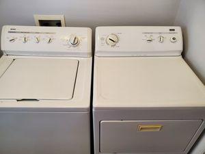 Photo Kenmore Elite Washer & Dryer Set